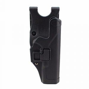 PG Airsoft Gun Holster 1 PG Tactical Holster Military Concealment Level 2 Right-Hand Paddle Waist Belt Gun Pistol Holster for GK 17 19 22 23 31