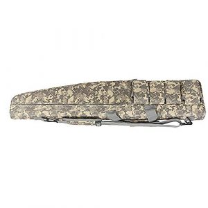 Sunny  1 Outdoor Sports Gear Tactical Assault Combat Camouflage Rifle Gun Case Cover Shooting Hunting Fishing Pack Tactical Airsoft Gun Long Bag - ACU - 120cm