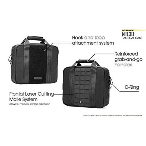 Nitecore Battery Case 5 Nitecore NTC10 Tactical Gear Carry case with EdisonBright BBX3 Battery case
