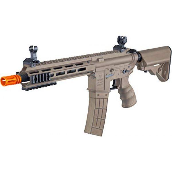 Tippmann Airsoft Airsoft Rifle 3 Tippmann Tactical Recon AEG CQB 9.5in Airsoft Rifle Tan