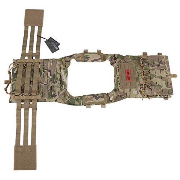 OneTigris Airsoft Tactical Vest 5 OneTigris Multicam Laser-Cut Modular Vest & Chest Rig for Men