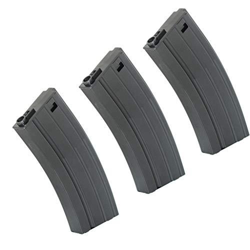 Generica  1 Airsoft Spare Parts CYMA 3pcs 190rd Mid-Cap Mag Magazine for M4 M16 Series Black
