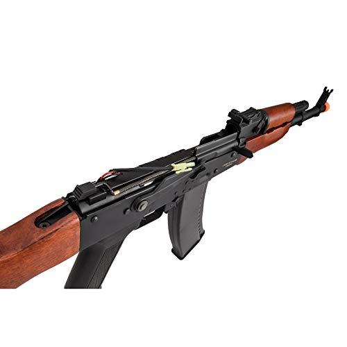 Lancer Tactical  7 Lancer Tactical AK-74N Series AEG Airsoft Rifle Real Wood Furniture
