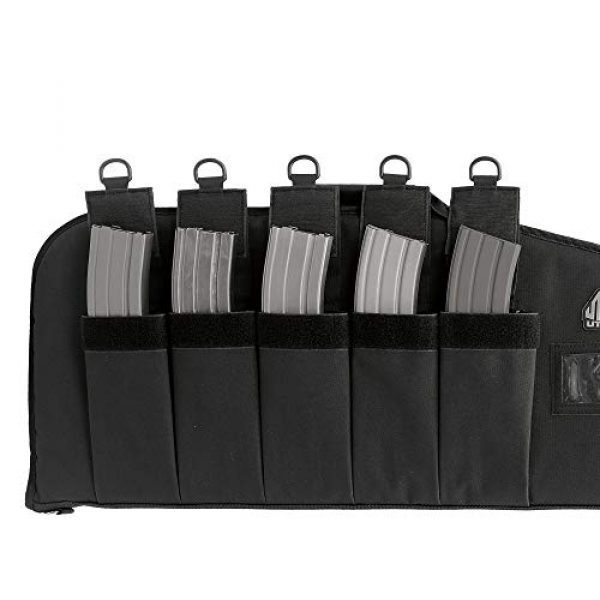 "UTG Rifle Case 4 42"" UTG DC Series Tactical Gun Case with Added Capacity (Black)"