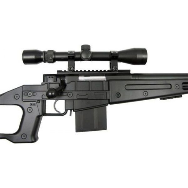 Prima USA Airsoft Rifle 5 well mb4408c bolt action spring airsoft sniper rifle with scope 390 fps(Airsoft Gun)