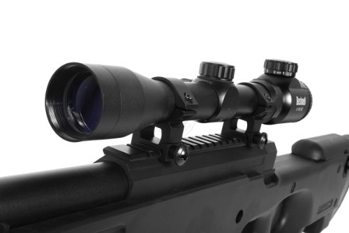Well  7 de airsoft shadow ops mk96 bolt action sniper rifle w/ bipod and scope(Airsoft Gun)