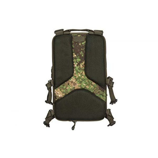 Lancer Tactical Airsoft Tactical Vest 6 Lancer Tactical 1000D Nylon QD Chest Rig and Backpack Combo (GREENZONE)