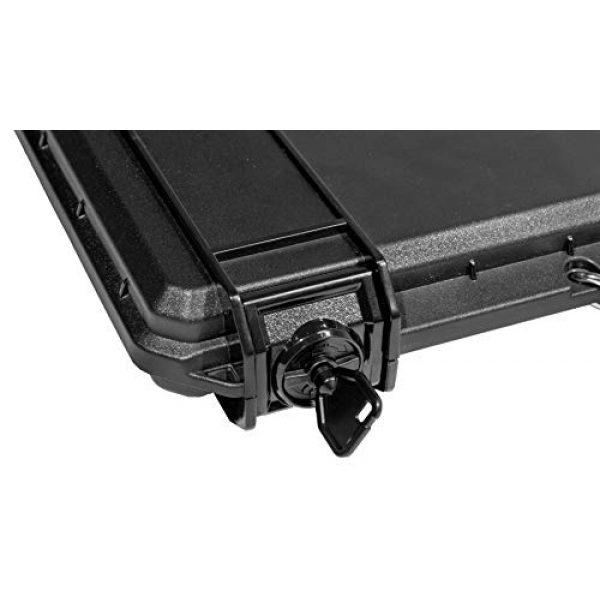 Case Club Pistol Case 4 Case Club MAC-10 Pre-Cut Waterproof Case with Silica Gel to Help Prevent Gun Rust