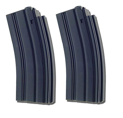 P-Force  1 PForce 40 Rounds Magazine Clip for 6mm BB AEG M4 M16 2 Pack Airsoft - Balck