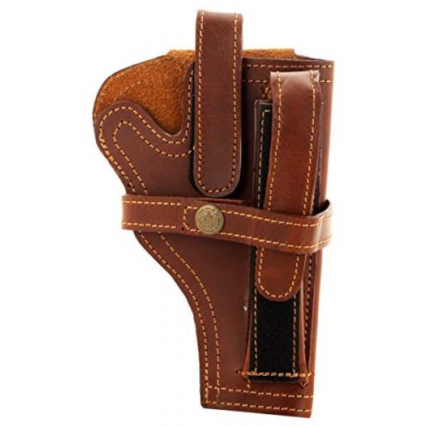 Snipper Pistol Case 1 Snipper 9 Mm Pistol Cover with Magazine Holder (Brown)