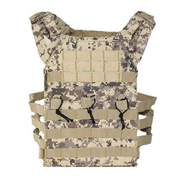 BGJ Airsoft Tactical Vest 1 Tactical Vest Hunting Body Armor Molle Plate Carrier Vest Outdoor Paintball Airsoft Vest Military Equipment