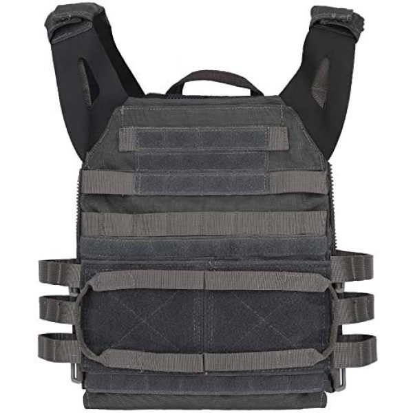 LEJIE Airsoft Tactical Vest 1 Lejie Tactical CS Field Vest Outdoor Hunting Training Airsoft Protective MOLLE Vest for Adults Adjustable