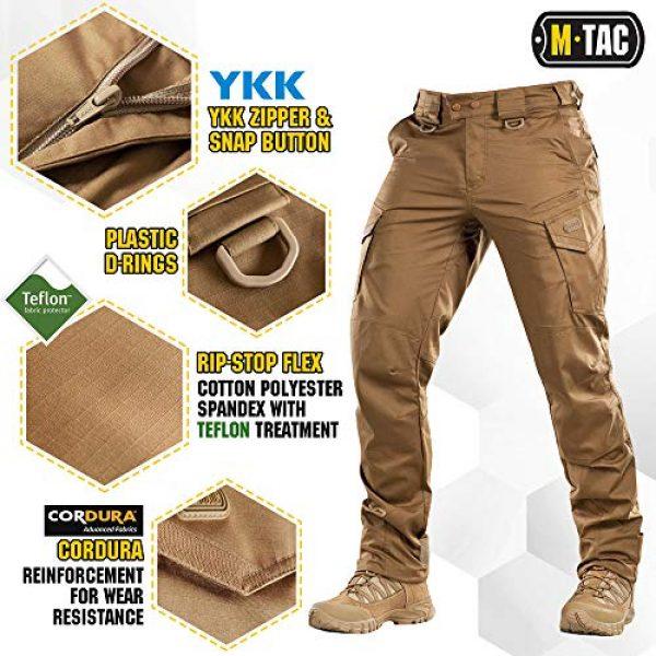 M-Tac Tactical Pant 3 Aggressor Flex - Tactical Pants - Men Cotton with Cargo Pockets