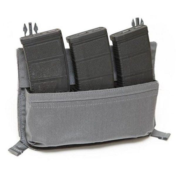 LBX TACTICAL Pistol Case 2 LBX TACTICAL S&S Skeleton Panel, Wolf Grey