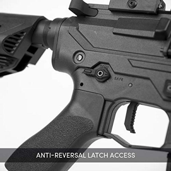 Valken Airsoft Rifle 6 Valken ASL Series M4 Airsoft Rifle AEG 6mm Rifle - MOD-M (Black)