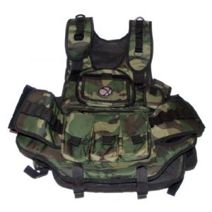 GXG Airsoft Tactical Vest 1 GXG Army Swat Paintball Airsoft Tactical Vest Camo