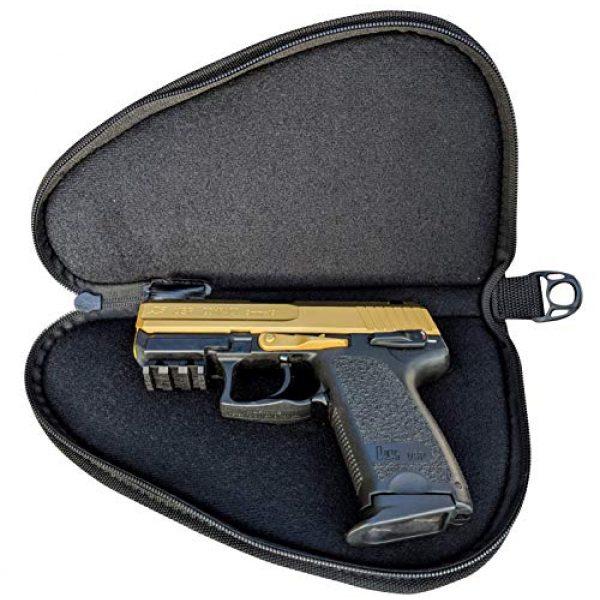 Cedar Mill Fine Firearms Pistol Case 2 Cedar Mill Fine Firearms - Deluxe Tactical Soft Pistol Gun Rug Case | Thick Double Padding