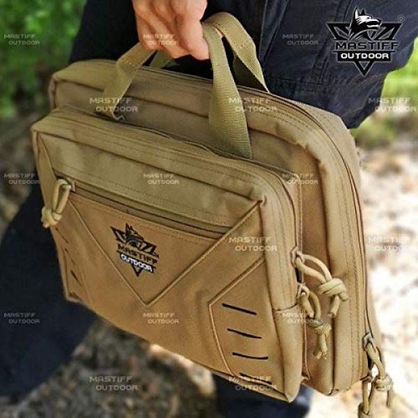 Mastiff Outdoor Pistol Case 4 Mastiff Outdoor Tactical Pistol Case Handgun Bag Hunting Shooting Range Magazine Pouch