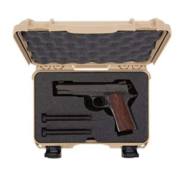 Nanuk Pistol Case 5 Nanuk Waterproof Hard Case for Revolvers with Custom 3UP Foam Insert