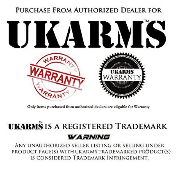 UKARMS Airsoft BB 2 UKArms BBTac 1000 Bag .12 Gram 6mm BBs For Airsoft Guns - 1 Bag of 1000 BBs