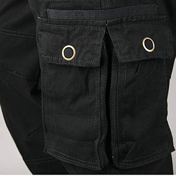 Raroauf Tactical Pant 5 Men's Military Tactical Pants Casual Cargo Pants Combat Trousers with Multi-Pocket