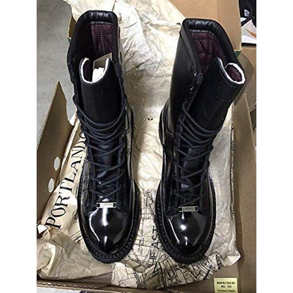 Leather Luster Combat Boot Polish 5 Hi Gloss Brilliant Patent Leather Finish 4 Ounce - Black
