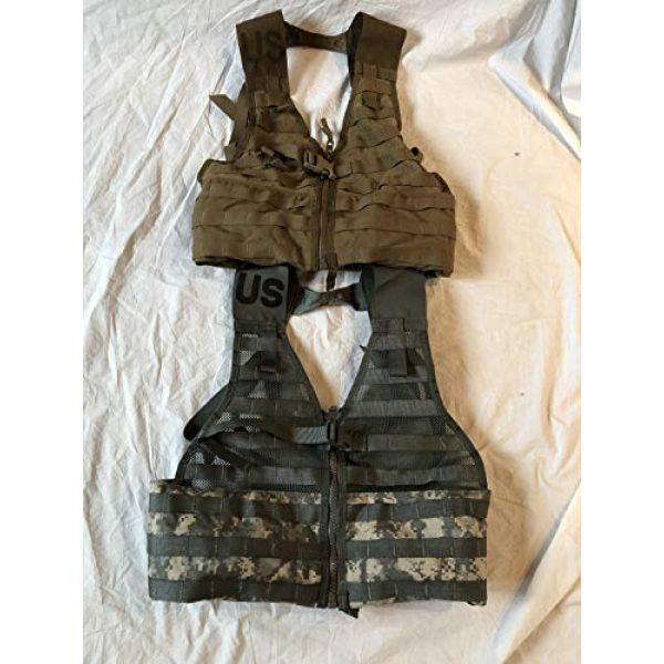 Locknwalk Airsoft Tactical Vest 1 Locknwalk 2-Tactical Fighting Load Carrier Vest MOLLE ACU FLC SDS LBV Coyote & ACU Color