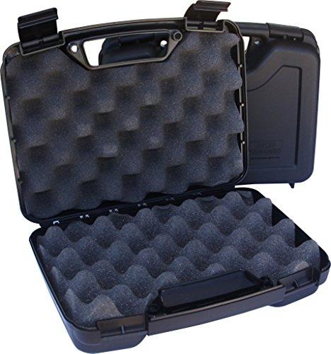 MTM Pistol Case 2 MTM 805-40 Single Pistol Handgun Case (Black)