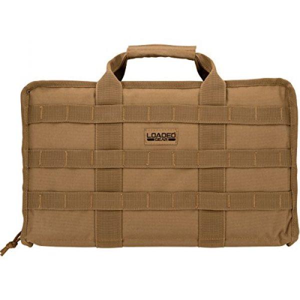 BARSKA Pistol Case 3 BARSKA Loaded Gear RX-50 Tactical Pistol Bag, 16-Inch