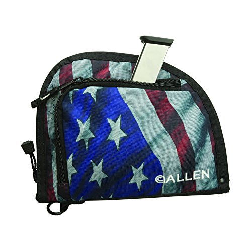"Allen Company  3 Allen One Pocket 9"" Auto-Fit Handgun Case"