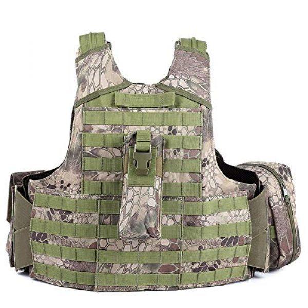 SHENGCUNZHE Airsoft Tactical Vest 4 SHENGCUNZHE Outdoor Tactical Vest