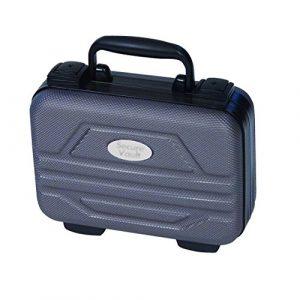 """Bob Allen Pistol Case 1 Bob-Allen Silverside Single Pistol Case, 10.5"""" x 7.25"""" x 4"""", Grey"""