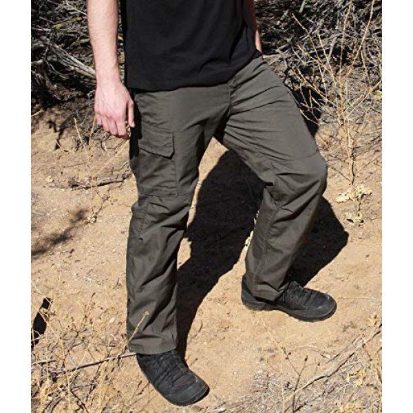 LA Police Gear Tactical Pant 6 Men's Urban Ops Tactical Cargo Pants - Elastic WB - YKK Zipper