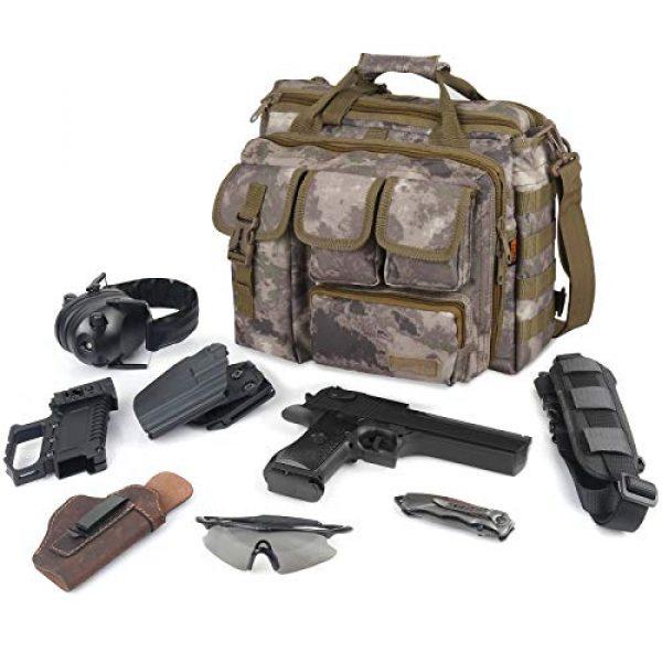 Sealantic Pistol Case 6 Sealantic Tactical Gun Range BagPistol Shooting Duffle BagPadded Shooting Range BagPistol Casesfor Firearm Accessories Storage Handguns and Ammo