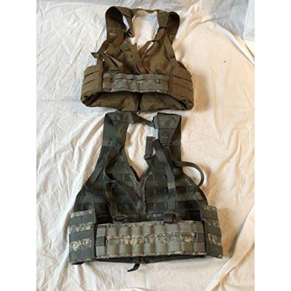 Locknwalk Airsoft Tactical Vest 2 Locknwalk 2-Tactical Fighting Load Carrier Vest MOLLE ACU FLC SDS LBV Coyote & ACU Color