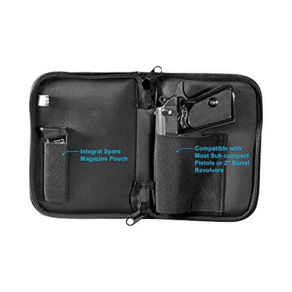 UTG Pistol Case 6 UTG Discreet Sub-compact Handgun Case for Pistol & Revolver