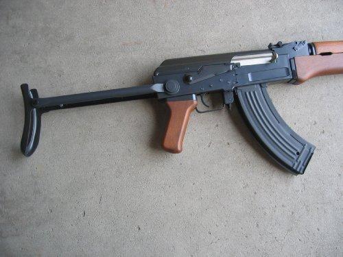 Double Eagle  4 Double Eagle AK-47S Metal Electric 425 FPS Airsoft Assault Rifle Gun