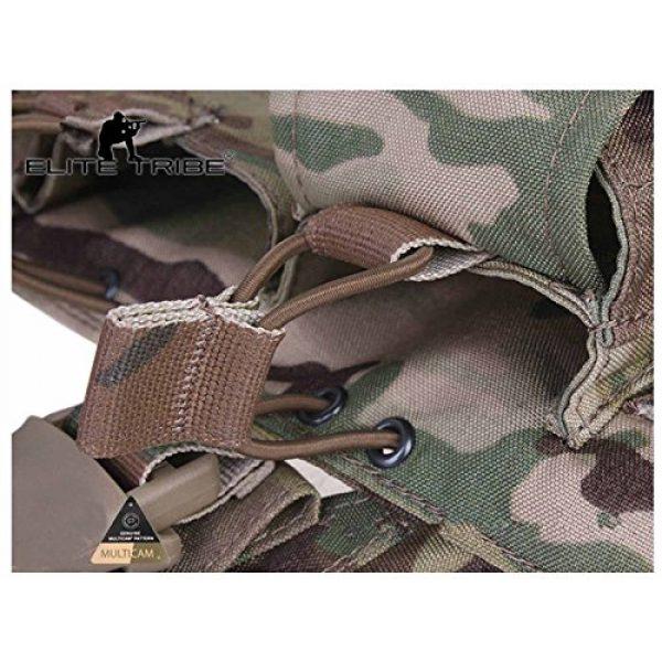 Elite Tribe Airsoft Tactical Vest 6 Tactical Vest Easy Chest Rig Military Carrier Vest Multicam