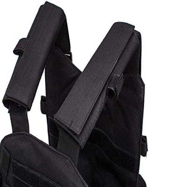 BGJ Airsoft Tactical Vest 2 Hunting Airsoft Multicam Molle Nylon Modular Vest Tactical Combat Black Vests Outdoor 6094 Vests Military Men Clothes Army Vest