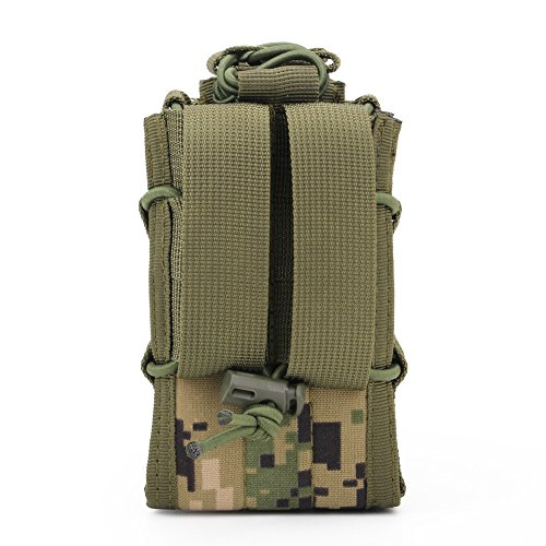 ATAIRSOFT  6 ATAIRSOFT Tactical 1000D Nylon Double MAG Pouch for Hunting Wargame Airsoft Molle Magazine Pouch