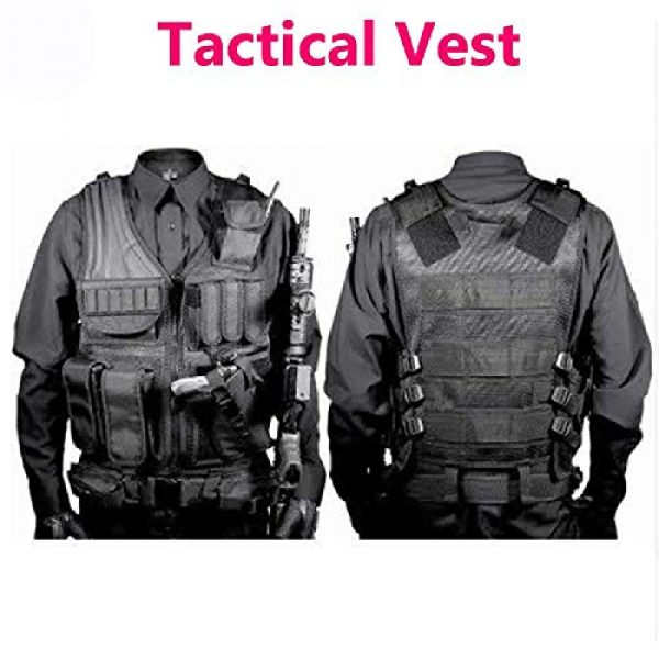 BGJ Airsoft Tactical Vest 4 BGJ Military Equipment Tactical Vest Police Training Combat Armor Gear Army Paintball Hunting Airsoft Vest Molle Protective Vests