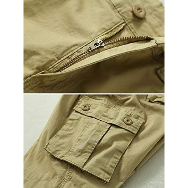 TRGPSG Tactical Pant 4 Women's Casual Ripstop Military Work Trousers, Multi-Pocket Outdoor Army Combat Cargo Pants