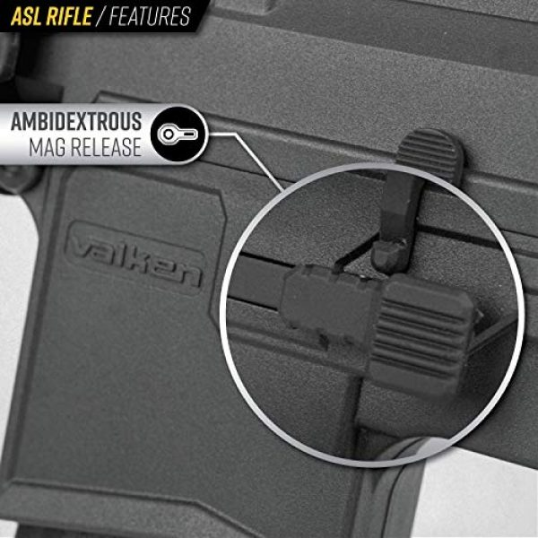 Valken Airsoft Rifle 5 Valken ASL Hi-Velocity M4 Airsoft Rifle AEG 6mm Rifle (Tango)