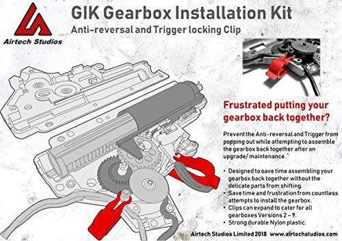 Airtech Studios  6 Airtech Studios Gearbox Installation Kit (GIK) - All AEG Gearbox Versions