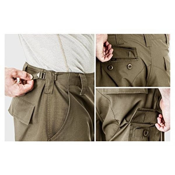 CQR Tactical Pant 7 Men's Tactical Pants, Military Combat BDU/ACU Cargo Pants, Water Repellent Ripstop Work Pants, Hiking Outdoor Apparel