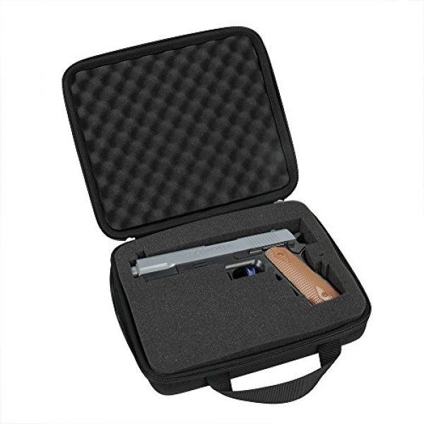 Hermitshell Pistol Case 3 Hermitshell Hard Travel Case Fits Pistol Handgun Revolver up to 8-Inch