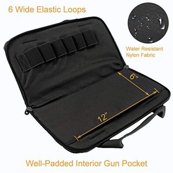 Depring Pistol Case 5 Depring Attache Pistol Case Tactical Padded Handgun Rug Shooting Range Gun Bag