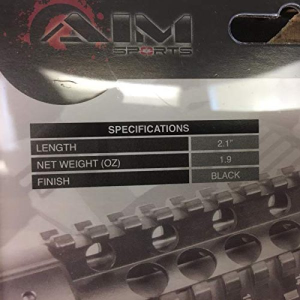 Airsoft Airsoft Gun 45 Degree Offset Mount 3 AirSoft Aim Sports 45 Degree Offset Rail Mount - (MT022)
