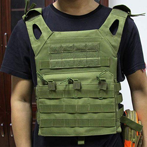 No! Airsoft Tactical Vest 4 No! JPC Vest Lightweight Tactical Vest Vest Multifunctional Outdoor Field CS Army Fan Vest