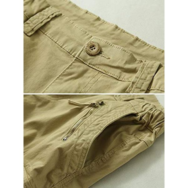 TRGPSG Tactical Pant 3 Women's Casual Ripstop Military Work Trousers, Multi-Pocket Outdoor Army Combat Cargo Pants